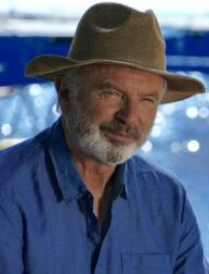 Sam Neill: 'A little optimism at the end of a rather dark tunnel'
