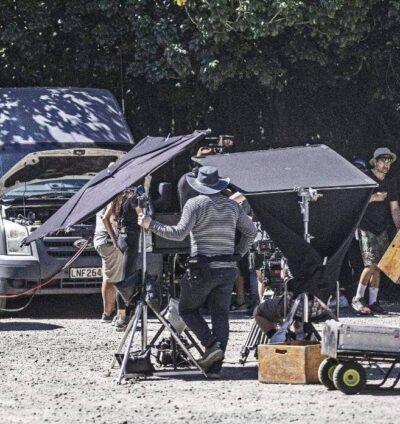 Filming for Muru, based on Tuhoe police raids, underway in West Auckland